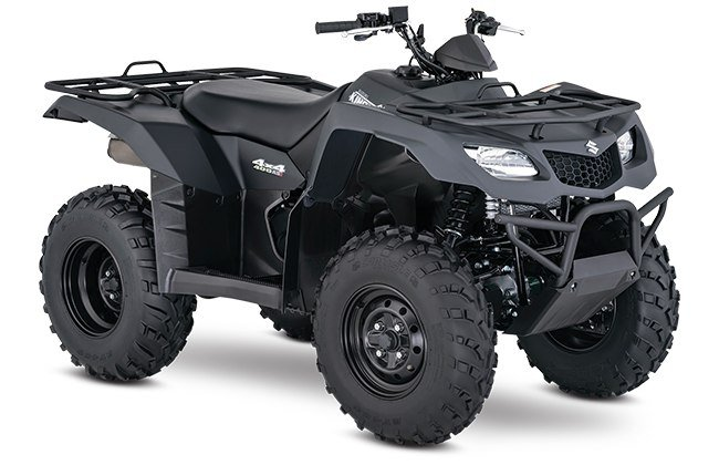 2018 Suzuki KingQuad 400ASi Special Edition in Fairfield, Illinois
