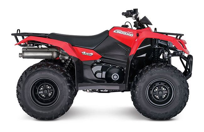 2018 Suzuki KingQuad 400FSi in Marietta, Ohio