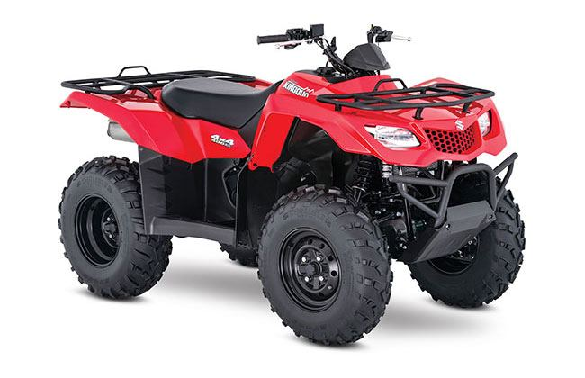 2018 Suzuki KingQuad 400FSi in Phillipston, Massachusetts
