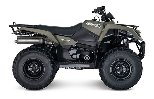 2018 Suzuki KingQuad 400FSi in Yuba City, California