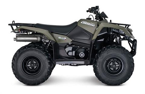 2018 Suzuki KingQuad 400FSi in Belleville, Michigan