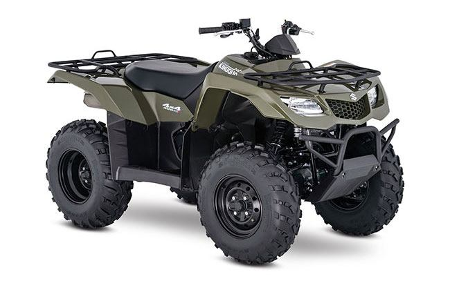 2018 Suzuki KingQuad 400FSi in San Jose, California