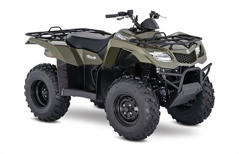 2018 Suzuki KingQuad 400FSi in Romney, West Virginia