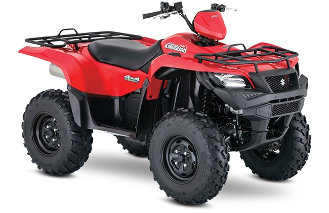 2018 Suzuki KingQuad 500AXi in Phillipston, Massachusetts
