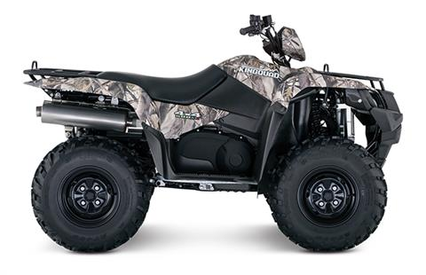 2018 Suzuki KingQuad 500AXi Camo in Oak Creek, Wisconsin