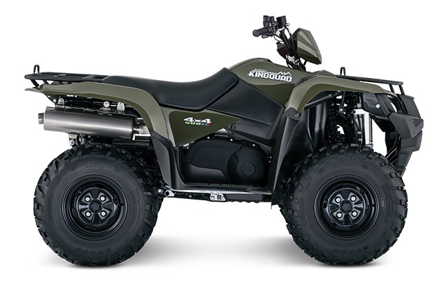 2018 Suzuki KingQuad 500AXi Power Steering in Galeton, Pennsylvania