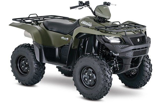 2018 Suzuki KingQuad 500AXi Power Steering in Sacramento, California