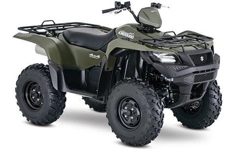 2018 Suzuki KingQuad 500AXi Power Steering in Greenville, North Carolina