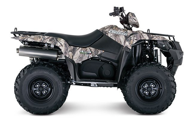 2018 Suzuki KingQuad 500AXi Power Steering in West Bridgewater, Massachusetts