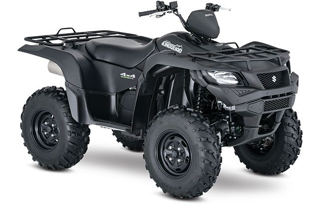 2018 Suzuki KingQuad 500AXi Power Steering Special Edition in Junction City, Kansas