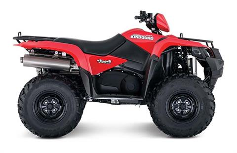 2018 Suzuki KingQuad 750AXi in Jonestown, Pennsylvania