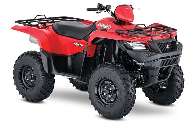 2018 Suzuki KingQuad 750AXi in Stuart, Florida