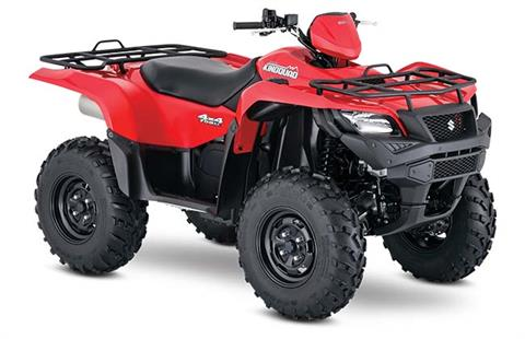 2018 Suzuki KingQuad 750AXi in Canton, Ohio