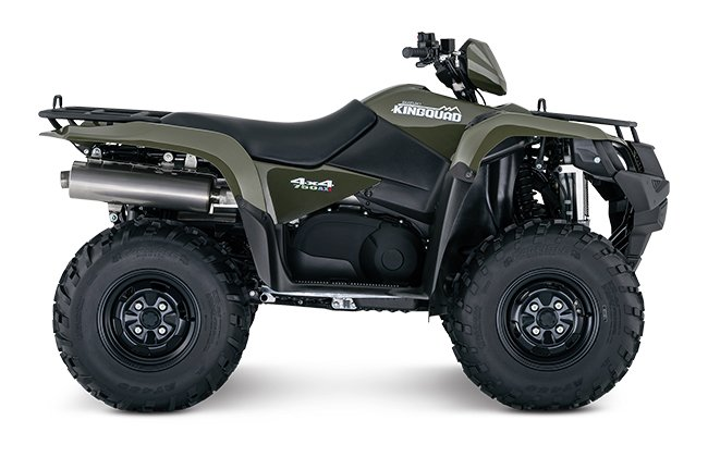 2018 Suzuki KingQuad 750AXi in Phillipston, Massachusetts