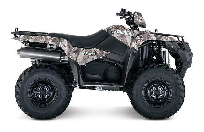 2018 Suzuki KingQuad 750AXi in Visalia, California