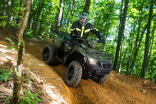 2018 Suzuki KingQuad 750AXi in Billings, Montana