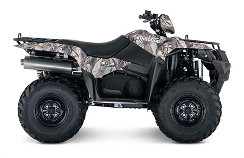 2018 Suzuki KingQuad 750AXi Camo in Oak Creek, Wisconsin