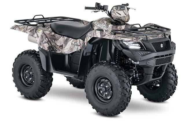 2018 Suzuki KingQuad 750AXi Camo in Fremont, California - Photo 2