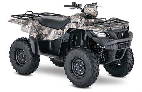 2018 Suzuki KingQuad 750AXi Camo in Trevose, Pennsylvania - Photo 2