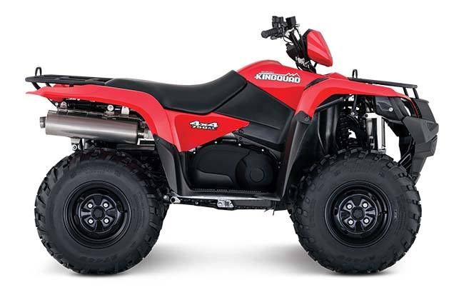 2018 Suzuki KingQuad 750AXi Power Steering in West Bridgewater, Massachusetts