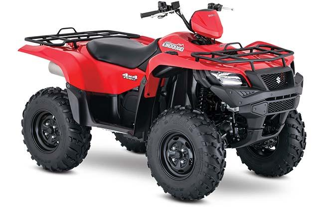 2018 Suzuki KingQuad 750AXi Power Steering in Belleville, Michigan - Photo 2