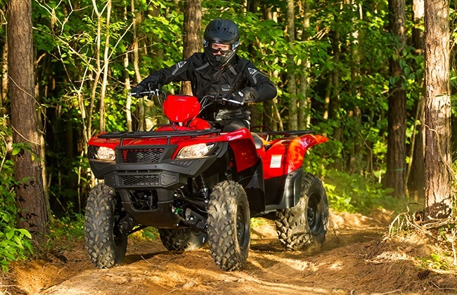 2018 Suzuki KingQuad 750AXi Power Steering in Montgomery, Alabama