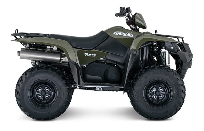 2018 Suzuki KingQuad 750AXi Power Steering in Jamestown, New York