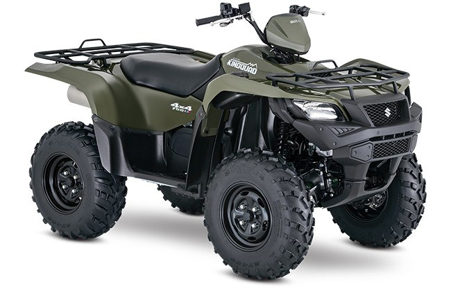 2018 Suzuki KingQuad 750AXi Power Steering in Phillipston, Massachusetts