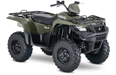 2018 Suzuki KingQuad 750AXi Power Steering in Stuart, Florida
