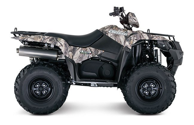 2018 Suzuki KingQuad 750AXi Power Steering Camo in Van Nuys, California - Photo 1
