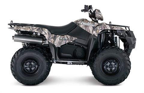 2018 Suzuki KingQuad 750AXi Power Steering Camo in Cambridge, Ohio