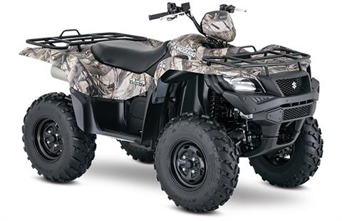 2018 Suzuki KingQuad 750AXi Power Steering Camo in Van Nuys, California - Photo 2