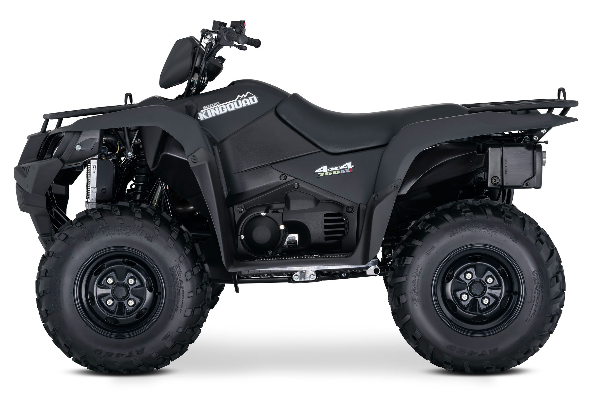 2018 Suzuki KingQuad 750AXi Power Steering Special Edition in Phillipston, Massachusetts