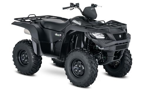 2018 Suzuki KingQuad 750AXi Power Steering Special Edition in Asheville, North Carolina