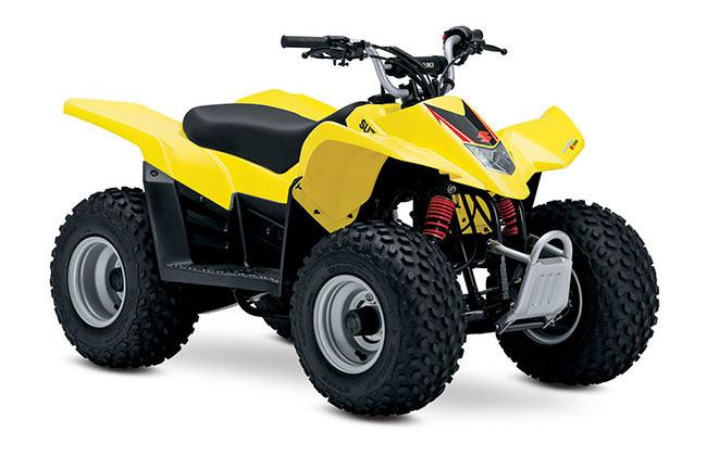 2018 Suzuki QuadSport Z50 in Grass Valley, California