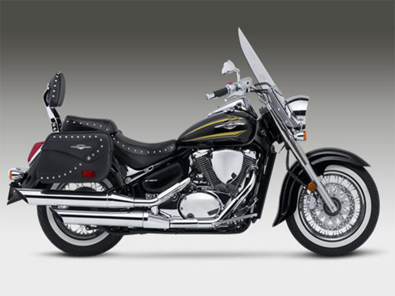 Touring With A Suzuki Boulevard