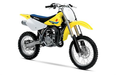 2018 Suzuki RM85 in Phillipston, Massachusetts