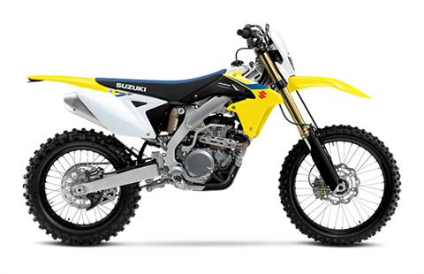 2018 Suzuki RMX450Z in Greenville, North Carolina