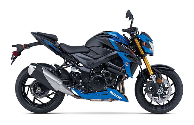 2018 Suzuki GSX-S750 in Fairfield, Illinois