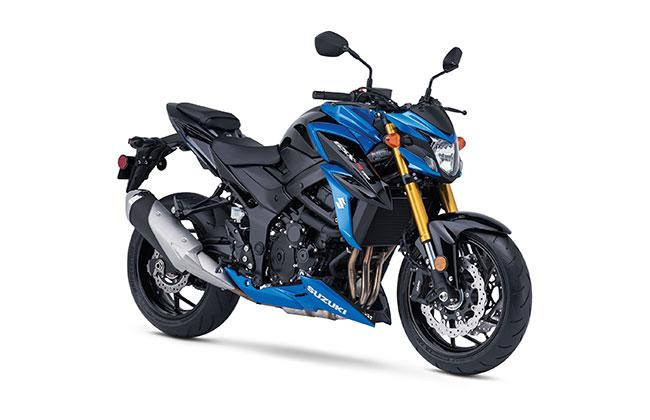 2018 Suzuki GSX-S750 in Grass Valley, California