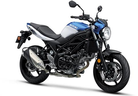 2018 Suzuki SV650 in Concord, New Hampshire