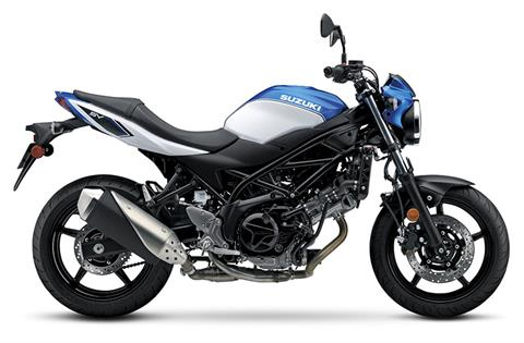 2018 Suzuki SV650 in Greenville, North Carolina - Photo 1