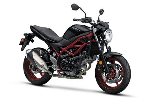 2018 Suzuki SV650 ABS in Albemarle, North Carolina