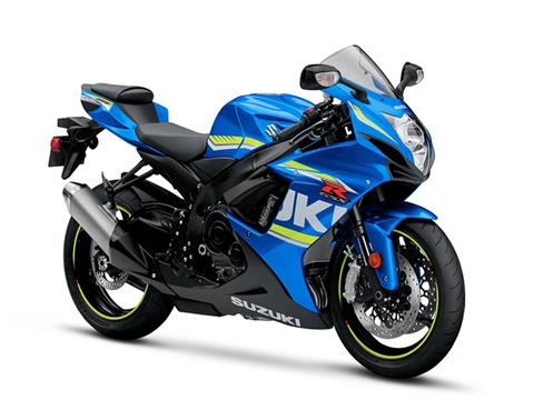 2018 Suzuki GSX-R600 in Grass Valley, California