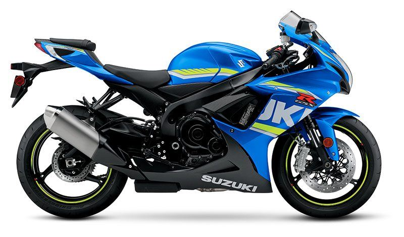 2018 Suzuki GSX-R600 in Rock Falls, Illinois