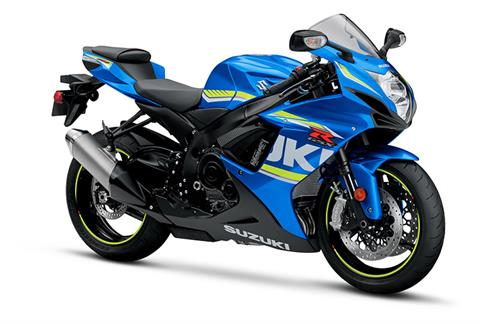 2018 Suzuki GSX-R600 in Cumberland, Maryland