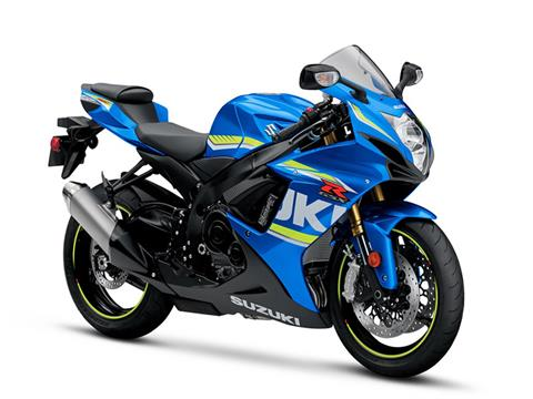 2018 Suzuki GSX-R750 in Concord, New Hampshire