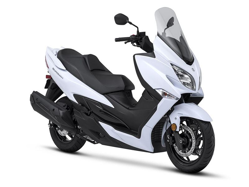 2018 Suzuki Burgman 400 ABS in Phillipston, Massachusetts