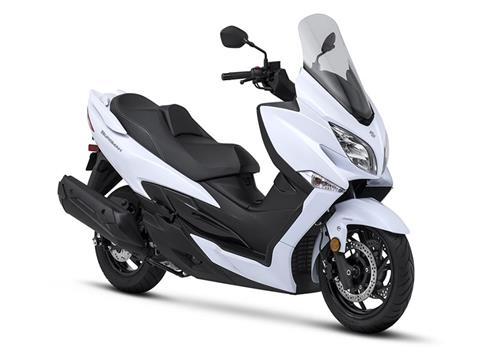 2018 Suzuki Burgman 400 ABS in Gaylord, Michigan