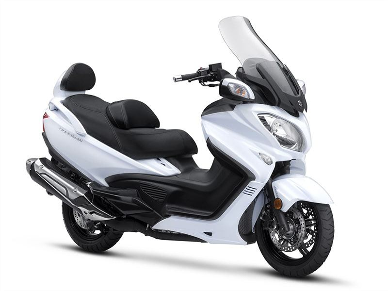 2018 Suzuki Burgman 650 Executive in Sacramento, California